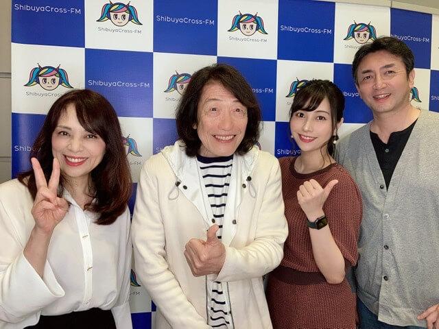 渋谷クロスFMに出演